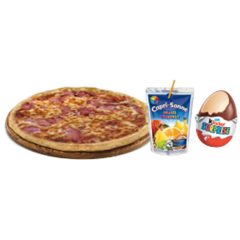 MENU ENFANT PIZZA
